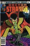 Cover for Doctor Strange (Marvel, 1974 series) #52 [Newsstand Edition]