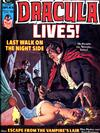 Cover for Dracula Lives (Marvel, 1973 series) #8