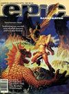Cover for Epic Illustrated (Marvel, 1980 series) #5