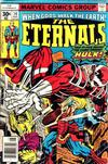 Cover for The Eternals (Marvel, 1976 series) #14 [30¢ Cover Price]