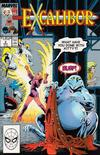 Cover for Excalibur (Marvel, 1988 series) #2 [Direct]