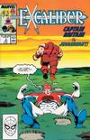 Cover for Excalibur (Marvel, 1988 series) #3 [Direct]