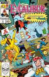 Cover for Excalibur (Marvel, 1988 series) #5 [Direct]