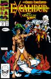 Cover for Excalibur (Marvel, 1988 series) #19 [Direct Edition]