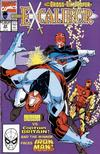 Cover for Excalibur (Marvel, 1988 series) #22 [Direct]