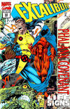 Cover for Excalibur (Marvel, 1988 series) #82 [Direct Edition - Deluxe Holo-Foil Cover]