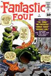 Cover for Fantastic Four (Marvel, 1961 series) #1