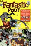 Cover for Fantastic Four (Marvel, 1961 series) #2 [Regular Edition]