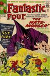 Cover for Fantastic Four (Marvel, 1961 series) #21 [Regular Edition]
