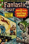 Cover for Fantastic Four (Marvel, 1961 series) #23 [Regular Edition]