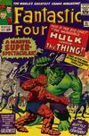 Cover for Fantastic Four (Marvel, 1961 series) #25 [Regular Edition]