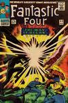 Cover for Fantastic Four (Marvel, 1961 series) #53 [Regular Edition]