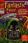 Cover for Fantastic Four (Marvel, 1961 series) #57 [Regular Edition]
