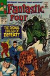 Cover for Fantastic Four (Marvel, 1961 series) #58 [Regular Edition]