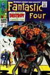 Cover for Fantastic Four (Marvel, 1961 series) #68 [Regular Edition]