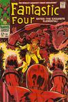 Cover for Fantastic Four (Marvel, 1961 series) #81