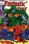 Cover for Fantastic Four (Marvel, 1961 series) #86 [Regular Edition]