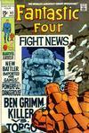 Cover for Fantastic Four (Marvel, 1961 series) #92 [Regular Edition]