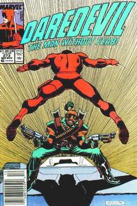 Cover Thumbnail for Daredevil (Marvel, 1964 series) #273 [Newsstand]