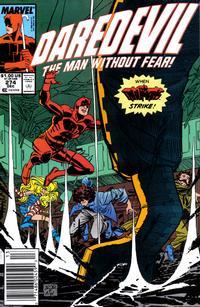 Cover Thumbnail for Daredevil (Marvel, 1964 series) #274 [Newsstand]