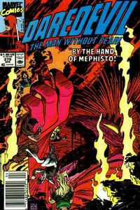 Cover Thumbnail for Daredevil (Marvel, 1964 series) #279 [Newsstand]