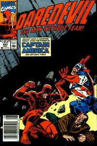Cover Thumbnail for Daredevil (Marvel, 1964 series) #283 [Newsstand]