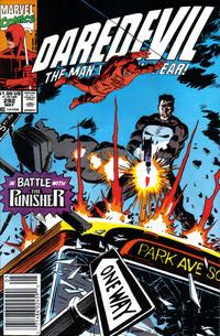 Cover Thumbnail for Daredevil (Marvel, 1964 series) #292 [Newsstand]