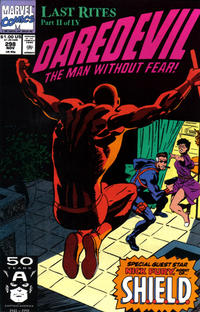 Cover Thumbnail for Daredevil (Marvel, 1964 series) #298 [Direct Edition]