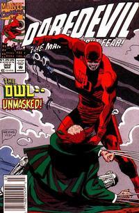 Cover Thumbnail for Daredevil (Marvel, 1964 series) #302 [Newsstand]