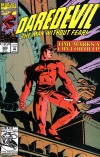 Cover Thumbnail for Daredevil (Marvel, 1964 series) #304 [Direct Edition]