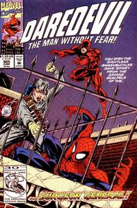 Cover Thumbnail for Daredevil (Marvel, 1964 series) #305 [Direct Edition]