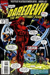 Cover Thumbnail for Daredevil (Marvel, 1964 series) #318 [Direct Edition]