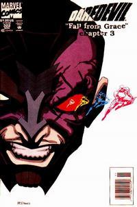 Cover Thumbnail for Daredevil (Marvel, 1964 series) #322 [Newsstand]