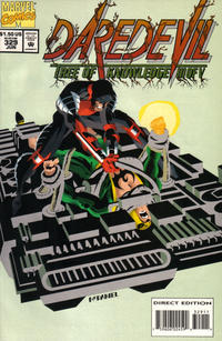 Cover Thumbnail for Daredevil (Marvel, 1964 series) #329 [Direct Edition]