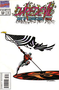 Cover Thumbnail for Daredevil (Marvel, 1964 series) #332 [Direct Edition]
