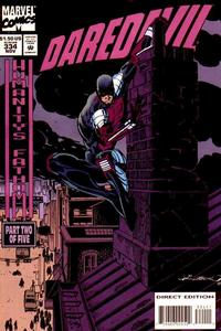 Cover Thumbnail for Daredevil (Marvel, 1964 series) #334 [Direct Edition]