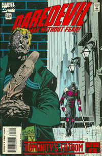 Cover Thumbnail for Daredevil (Marvel, 1964 series) #335 [Direct Edition]