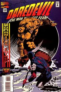 Cover Thumbnail for Daredevil (Marvel, 1964 series) #336 [Direct Edition]