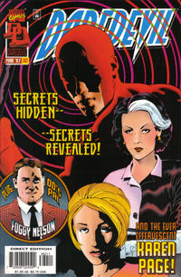 Cover Thumbnail for Daredevil (Marvel, 1964 series) #362 [Direct Edition]