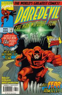 Cover Thumbnail for Daredevil (Marvel, 1964 series) #366 [Direct Edition]