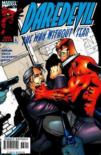 Cover Thumbnail for Daredevil (Marvel, 1964 series) #374 [Direct Edition]