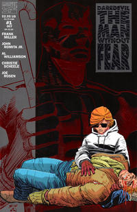 Cover Thumbnail for Daredevil The Man without Fear (Marvel, 1993 series) #1 [Direct Edition]
