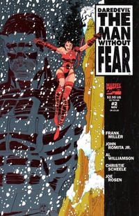 Cover Thumbnail for Daredevil The Man without Fear (Marvel, 1993 series) #2 [Direct Edition]