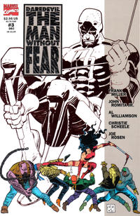 Cover Thumbnail for Daredevil The Man without Fear (Marvel, 1993 series) #3 [Direct Edition]