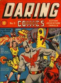 Cover Thumbnail for Daring Mystery Comics (Marvel, 1940 series) #5