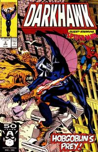 Cover Thumbnail for Darkhawk (Marvel, 1991 series) #2 [Direct]