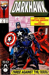 Cover Thumbnail for Darkhawk (Marvel, 1991 series) #6 [Direct]