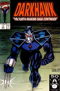 Cover Thumbnail for Darkhawk (Marvel, 1991 series) #7 [Direct]