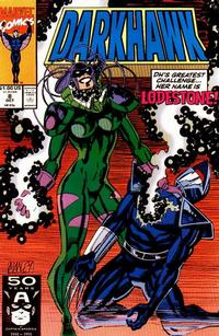 Cover Thumbnail for Darkhawk (Marvel, 1991 series) #8 [Direct]