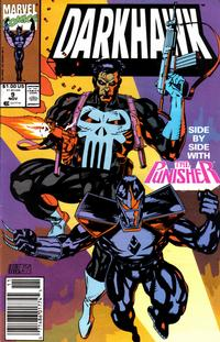 Cover Thumbnail for Darkhawk (Marvel, 1991 series) #9 [Newsstand]
